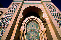 Grande Mosquee D'Hassan II (the second largest mosque in the world), Casablanca, Morocco