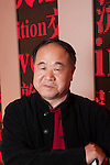 Mo Yan (), Chinese writer, 2012 Literature Nobel prize photographed at the 2012 London Book Fair.