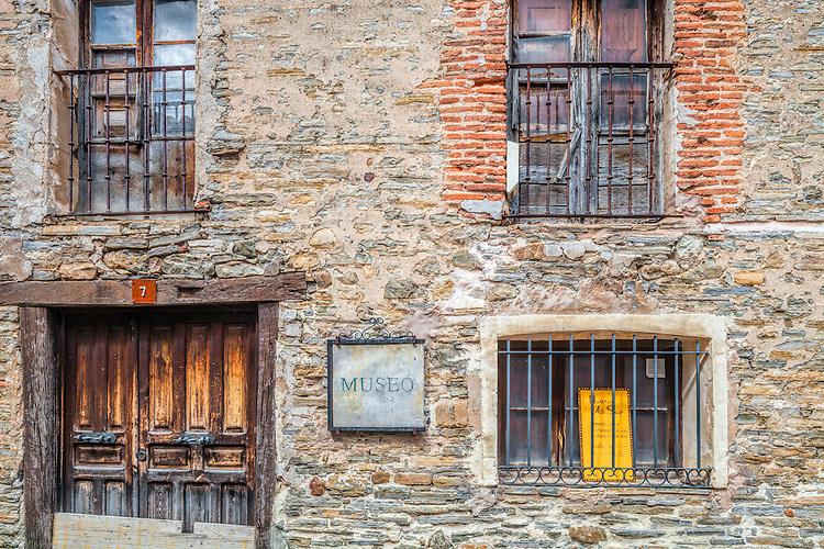 Old stone house, Yanguas, Soria, Spain
