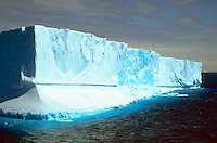 Large icebergs floating in Antarctic Sound, Antarctic Peninsula.<br />
