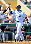 11 March 2009: Detroit Tigers' outfielder Gary Sheffield in action during a Spring Training game against the New York Yankees at Joker Marchant Stadium in Lakeland, Florida. The Tigers defeated the Yankees 7-4 in the Grapefruit League matchup. Mandatory Photo Credit: Ed Wolfstein Photo