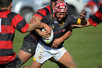 Action from the Transit Coachlines 1st XV Festival rugby union match between  Wellington College and Gisborne Boys' High School at Memorial Park in Masterton, New Zealand on Saturday, 6 May 2017. Photo: Dave Lintott / lintottphoto.co.nz