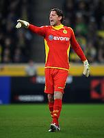 FUSSBALL   1. BUNDESLIGA   SAISON 2011/2012    15. SPIELTAG Borussia Moenchengladbach - Borussia Dortmund        03.12.2011 Torwart Roman Weidenfeller (Borussia Dortmund)