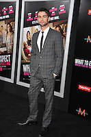 Actor Chase Crawford arrives at the premiere of 'What To Expect When You're Expecting' held at Grauman's Chinese Theatre in Hollywood.