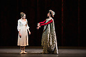 London, UK. 17.04.13. Canada's premier dance company The National Ballet of Canada returns to London after 26 years with its new production of Romeo and Juliet, which was created in 2011 to mark the company's 60th anniversary. Picture shows: Heather Ogden (Juliet) and Alejandra Perez-Gomez (Lady Capulet). Photograph © Jane Hobson.