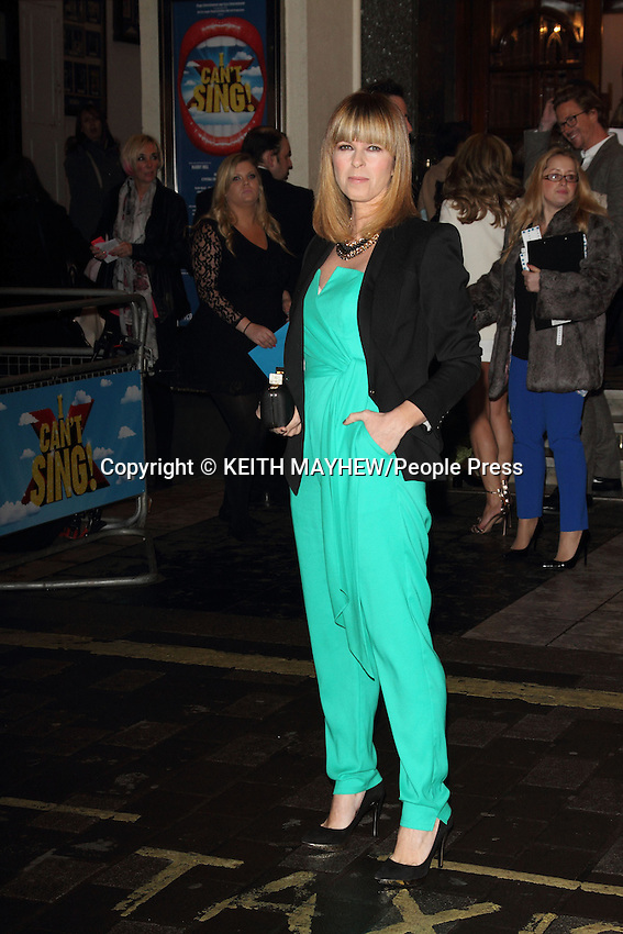 'I Can't Sing - the X Factor Musical' Press Night at the London Palladium, London on March 26th 2014 <br /> <br /> Photo by Keith Mayhew