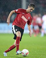 FUSSBALL   1. BUNDESLIGA   SAISON 2012/2013  15. SPIELTAG     SC Freiburg - FC Bayern Muenchen      28.11.2012 Johannes Flum (SC Freiburg)