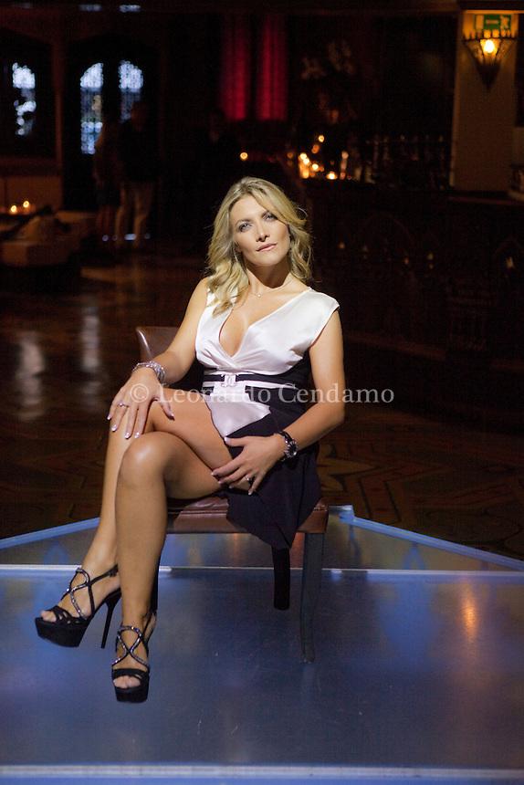 Alessia Donati, writer, actress pornostar, Milano 2010;  © Leonardo Cendamo