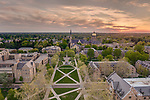 5.8.13 Sunset Basilica & Golden Dome 27911_1.JPG by Barbara Johnston/University of Notre Dame