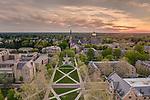 5.8.13 Sunset Basilica & Golden Dome 27911_1.JPG by Barbara Johnston/University of Notre Dame