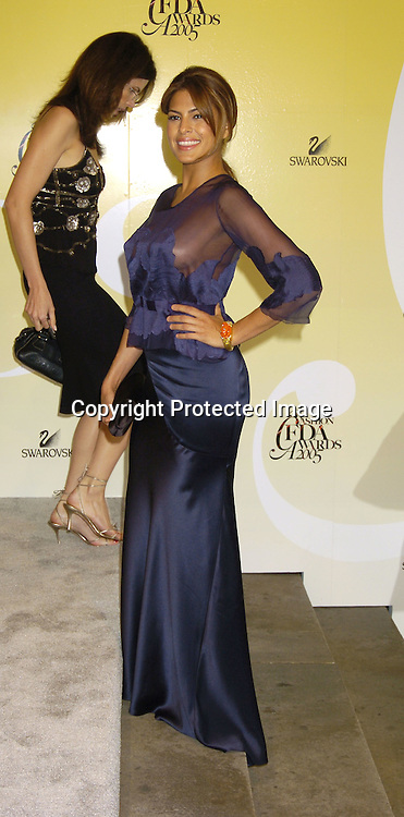 Eva Mendes..at the 2005 CFDA Fashion Awards on June 6, 2005 at ..the New York Public Library. ..Photo by Robin Platzer, Twin Images