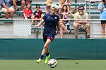 19 August 2014: Megan Rapinoe. The United States Women's National Team held a public training session at WakeMed Stadium in Cary, North Carolina.