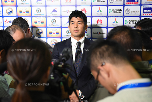 Kosei Inoue(JPN), AUGUST 25, 2015 - Judo : World Judo Championships Astana 2015 at Alau Ice Palace in Astana, Kazakhstan. (Photo by AFLO SPORT)