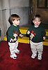 The Eckstein Triplets. Caleb, Benjamin and  Alexander.at The All My Children Christmas Party on December 20, 2007 at Arena in New York City. .Robin Platzer, Twin Images
