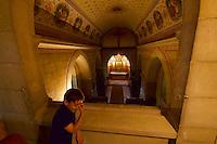 Gars am Kamp, Lower Austria. Kunstraum Buchberg at Buchberg castle.<br /> The chapel.