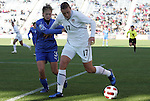 27 November 2010: Abby Wambach (USA) (17) and Roberta D'Adda (ITA) (3). The United States Women's National Team defeated the Italy Women's National Team 1-0 in the second leg of their 2011 FIFA Women's World Cup Qualifier playoff at Toyota Park in Bridgeview, Illinois. The U.S. won the series 2-0 on aggregate goals to advance.