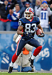 5 November 2006: Buffalo Bills wide receiver Lee Evans (83) runs into the end zone for a 43-yard touchdown play in the fourth quarter against the Green Bay Packers at Ralph Wilson Stadium in Orchard Park, NY. The Bills defeated the Packers 24-10. Mandatory Photo Credit: Ed Wolfstein Photo.<br />