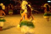 Tahitian Dancers, Bora Bora, French Polynesia<br />