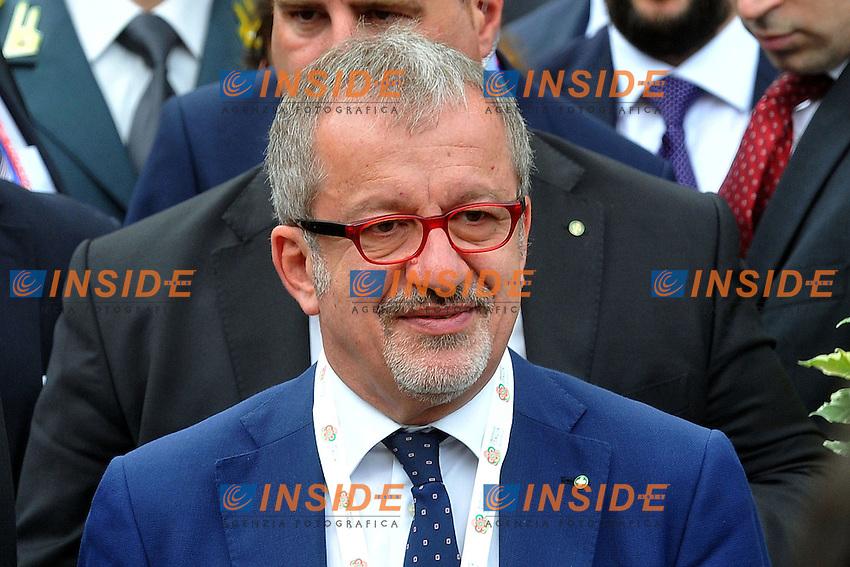Roberto Maroni<br /> Milano 10-06-2015 Expo. Visita del Presidente russo all'Expo.<br /> Russian President visits Expo 2015<br /> Photo  Andrea Ninni/Image/Insidefoto