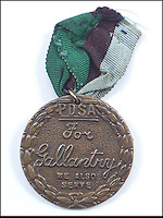 BNPS.co.uk (01202 558833)<br /> Pic: Bosleys/BNPS<br /> <br /> A lost bravery medal awarded to a homing pigeon that was the first to bring back to Britain news of the D-Day landings has been discovered after 69 years.<br /> <br /> The Dickin Medal - the animal version of the Victoria Cross - was won by a bird called the Duke of Normandy that was dropped behind enemy lines with Allied paratroopers hours before the invasion.<br /> <br /> The men were to capture bridges on the eastern end of the Normandy bridgehead and head towards the beaches to link up with the main invasion force.<br /> <br /> Cooped up in a small cage, the grand cock breed was released by a paratrooper at 6am on June 6, 1944, with a message attached to it relating to the success of the operation.
