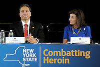NY Governor Attends Heroin and Opioid Abuse Task Force Session