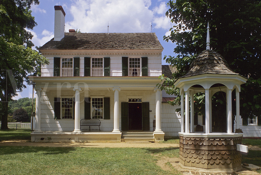 """Longstreet Farm, """"The 1890's living Historical Farm"""" in Monmouth County, New Jersey.Part of the building dates from 1775"""