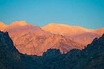 Early morning light on the Eastern Sierra, Lone Pine, California.