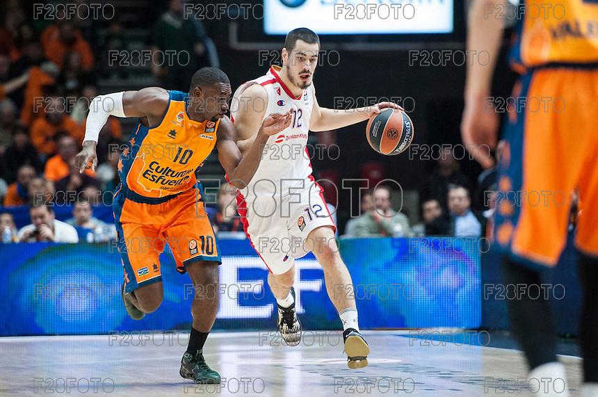 Valencia Basket 68-77 Estrella Roja (5-12-2014)