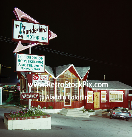 Thunderbird Motel, Diamond Point, NY