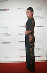 Model Diamonnique Lassiter Wearing Dress by Marco Hall attends COVERGIRL Queen Collection Presents The 2nd Annual Blackout Awards Held at Newark Hilton Gateway, NJ 6/12/11