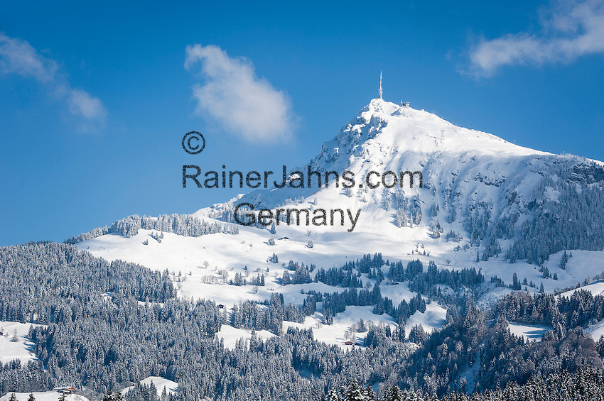 Oesterreich Tirol Reith Bei Kitzbuehel Winterlandschaft