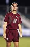 Florida State's Libby Gianeskis on Friday, November 4th, 2005 at SAS Stadium in Cary, North Carolina. The University of Virginia Cavaliers defeated the Florida State University Seminoles 2-0 in their Atlantic Coast Conference Tournament Semifinal game.