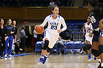 22 November 2016: Duke's Rebecca Greenwell. The Duke University Blue Devils hosted the Old Dominion University Monarchs at Cameron Indoor Stadium in Durham, North Carolina in a 2016-17 NCAA Division I Women's Basketball game. Duke won the game 92-64.