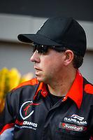 Sep 18, 2016; Concord, NC, USA; NHRA top fuel driver Wayne Newby during the Carolina Nationals at zMax Dragway. Mandatory Credit: Mark J. Rebilas-USA TODAY Sports