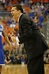 UK Head Coach John Calipari during the second half of the University of Kentucky vs. University of Florida men's basketball game at the O'Connell Center in Gainesville, Fl., on Tuesday, February 12, 2013. UK lost 69-52. Photo by Tessa Lighty | Staff