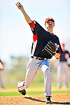 1 March 2010: Washington Nationals' starting pitcher Collin Balester takes practice during Spring Training at the Carl Barger Baseball Complex in Viera, Florida. Mandatory Credit: Ed Wolfstein Photo
