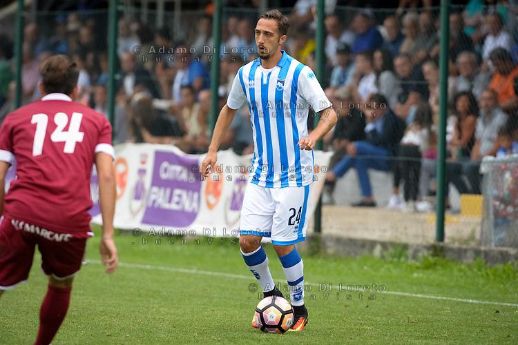 Mazzotta Antonio (Pescara) during the withdrawal preseason Serie A; match friendly between Pescara vs San Nicolò, on July 28, 2016. Photo: Adamo Di Loreto/BuenaVista*photo