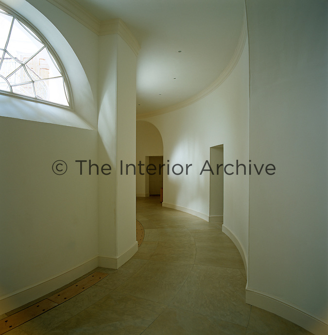 Many of the floors are now of limestone instead of concrete, more appropriate to the Palladian history of the property