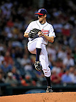 4 September 2009: Cleveland Indians' starting pitcher Jeremy Sowers on the mound against the Minnesota Twins at Progressive Field in Cleveland, Ohio. Sowers pitched six innings to notch his sixth win of the season as the Indians defeated the Twins 5-2 to take the first game of their three-game weekend series. Mandatory Credit: Ed Wolfstein Photo