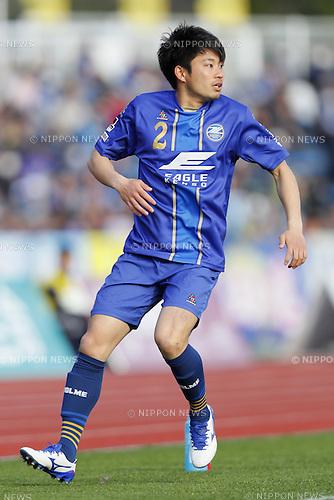 Satoru Hoshino (Zelvia), MARCH 20, 2016 - Football /Soccer : 2016 J2 League match between FC Machida Zelvia 2-1 Zweigen Kanazawa at Machida Stadium in Tokyo, Japan. (Photo by Yusuke Nakanishi/AFLO SPORT)