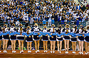 PE00084-00...WASHINGTON - High school football game with cheerleaders.