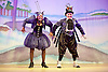 Jack and the Beanstalk <br /> by Susie McKenna with music by Steven Edis <br /> at the Hackney Empire, London, Great Britain <br /> press photocall <br /> 25th November 2015  <br /> <br /> Jocelyn Jee Esien as Stomach Bug<br /> <br /> Tony Timberlake  as Nasty Bug<br /> <br /> <br /> <br /> Photograph by Elliott Franks <br /> Image licensed to Elliott Franks Photography Services