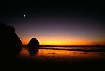 Sunset, Cannon Beach, Oregon