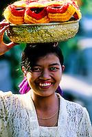 Woman, Amlapura, Bali, Indonesia