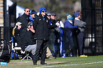 24 November 2013: Duke assistant coach Carla Overbeck. The University of Arkansas Razorbacks played the Duke University Blue Devils at Koskinen Stadium in Durham, NC in a 2013 NCAA Division I Women's Soccer Tournament Third Round match. Duke advanced by winning the penalty kick shootout 5-3 after the game ended in a 2-2 tie after overtime.