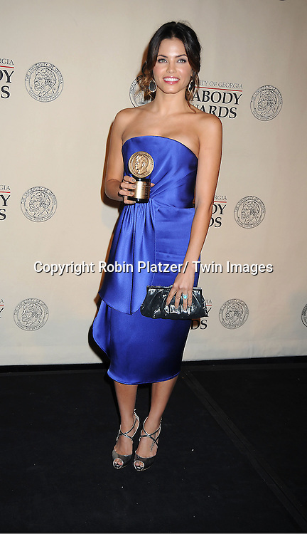 "Jenna Dewan Tatum winners for ""Earth Made of Glass"" attends the 71st Annual Peabody Awards at the Waldorf Astoria Hotel in New York City on May 21, 2012."
