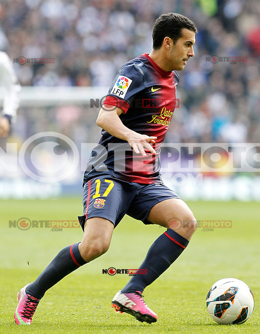 FC Barcelona's Pedro Rodriguez during La Liga match.March 02,2013. (ALTERPHOTOS/Acero) /NortePhoto