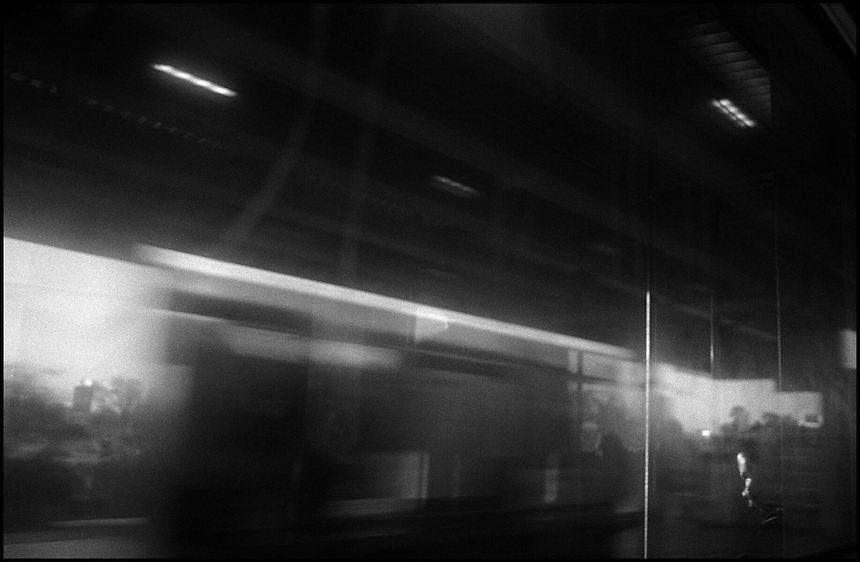 From &quot;Life to Waste&quot; series.<br /> Miami Metrorail, Miami, FL