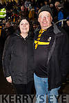 Eileen and Colm Moloney, Killarney, Dr. Crokes fans pictured at the AIB Munster Club SFC final held in Mallow on Sunday last.