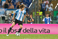 Argentina beats Italy 2-1 during the international friendly between Italy vs Argentina at Stadio Olimpico, in Rome, on August 14, 2013 in Rome. In the photo: Fabricio Coloccini Argentina. Photo: Adamo Di Loreto/BuenaVista*photo